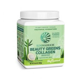 Sunwarrior Beauty greens kolagen booster, naravni okus (nesladkan)