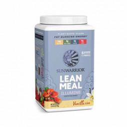 Sunwarrior Lean Meal mešanica za pripravo nadomestka obroka z okusom vanilije, 720 g (prehransko dopolnilo)