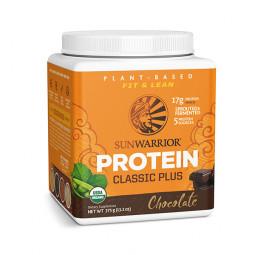 Sunwarrior Classic PLUS rastlinski proteini - Čokolada, 375 g