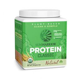 Sunwarrior Classic rastlinski proteini - Naravni, 375 g