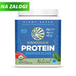 Sunwarrior Warrior Blend rastlinski proteini - Naravni, 375 g