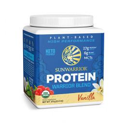 Sunwarrior Warrior Blend rastlinski proteini - Vanilija, 375 g