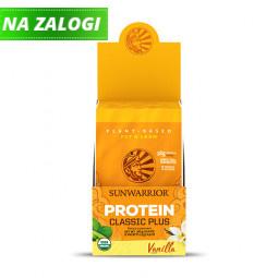 Sunwarrior proteini – paket 12 vrečk x 25 g, Classic Plus vanilija