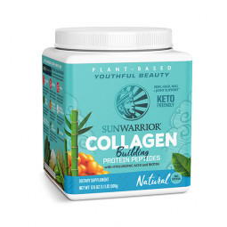 Sunwarrior rastlinski kolagen gradniki, okus natural – prehransko dopolnilo, 500 g