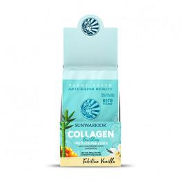 Sunwarrior rastlinski kolagen gradniki, okus tahitijska vanilija – paket 12 vrečk x 25 g
