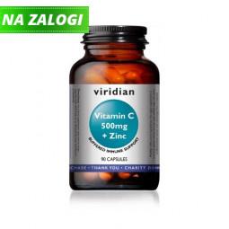 Vitamin C 500mg in cink (90 kapsul)