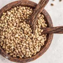 Neoluščena konopljina semena, 250 g