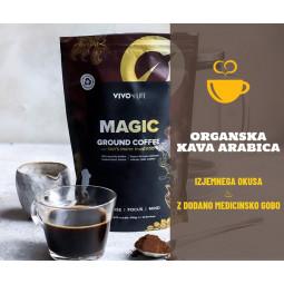 Kava z medicinsko gobo resasti bradovec, Vivolife