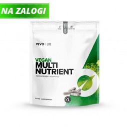 Multivitamini - veganska mešanica vitaminov in mineralov, 120 kapsul